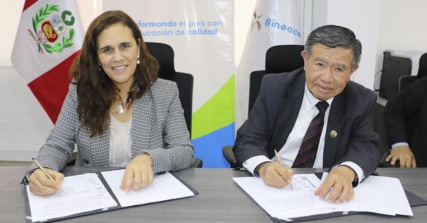 SINEACE y Gobierno Regional de Lima de la mano para fortalecer la calidad educativa - www.sineace.gob.pe