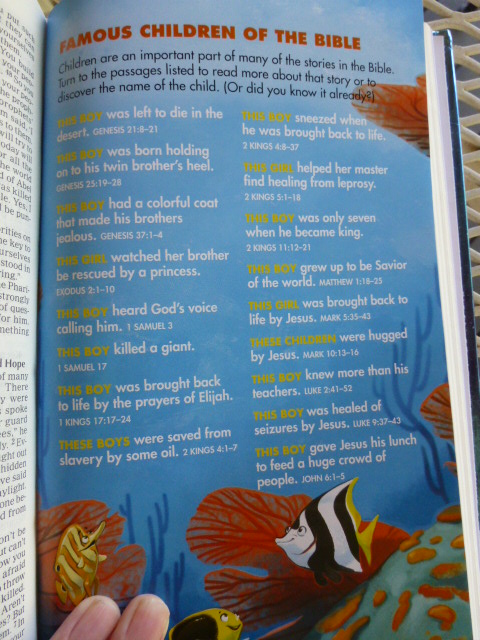 Homeschooling autism stuff under the sea holy bible review i like the page that spotlights children in the bible in a sort of scavenger hunt style where the clue peaks curiosity and sends the child looking for the fandeluxe Images