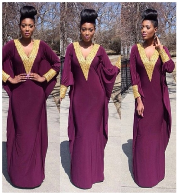 African Boubou and Kaftan Styles (Pictures)