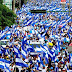 Marcha, paro y caravana en protesta contra el régimen de Daniel Ortega