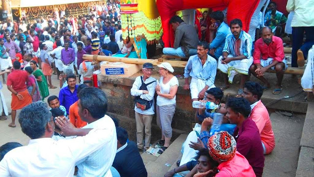 mimi et ammar festival hindou kerala