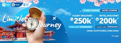 Diskon Tiket Pesawat dan Hotel Traveloka