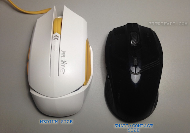 Pandang Pertama James Donkey 112 wired Gaming Mouse