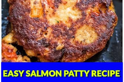 EASY SALMON PATTY RECIPE