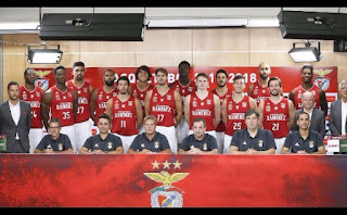 Plantel do Basquetebol do Benfica para 2017/18