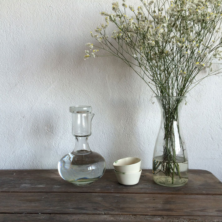 Rustic pottery from Margarida Melo Fernandes - found on Hello Lovely Studio