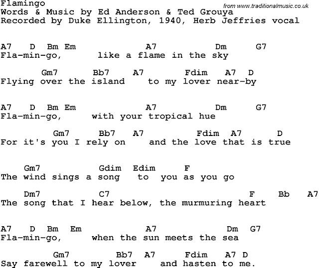 DUKE ELLINGTON LYRICS - SongLyrics.com