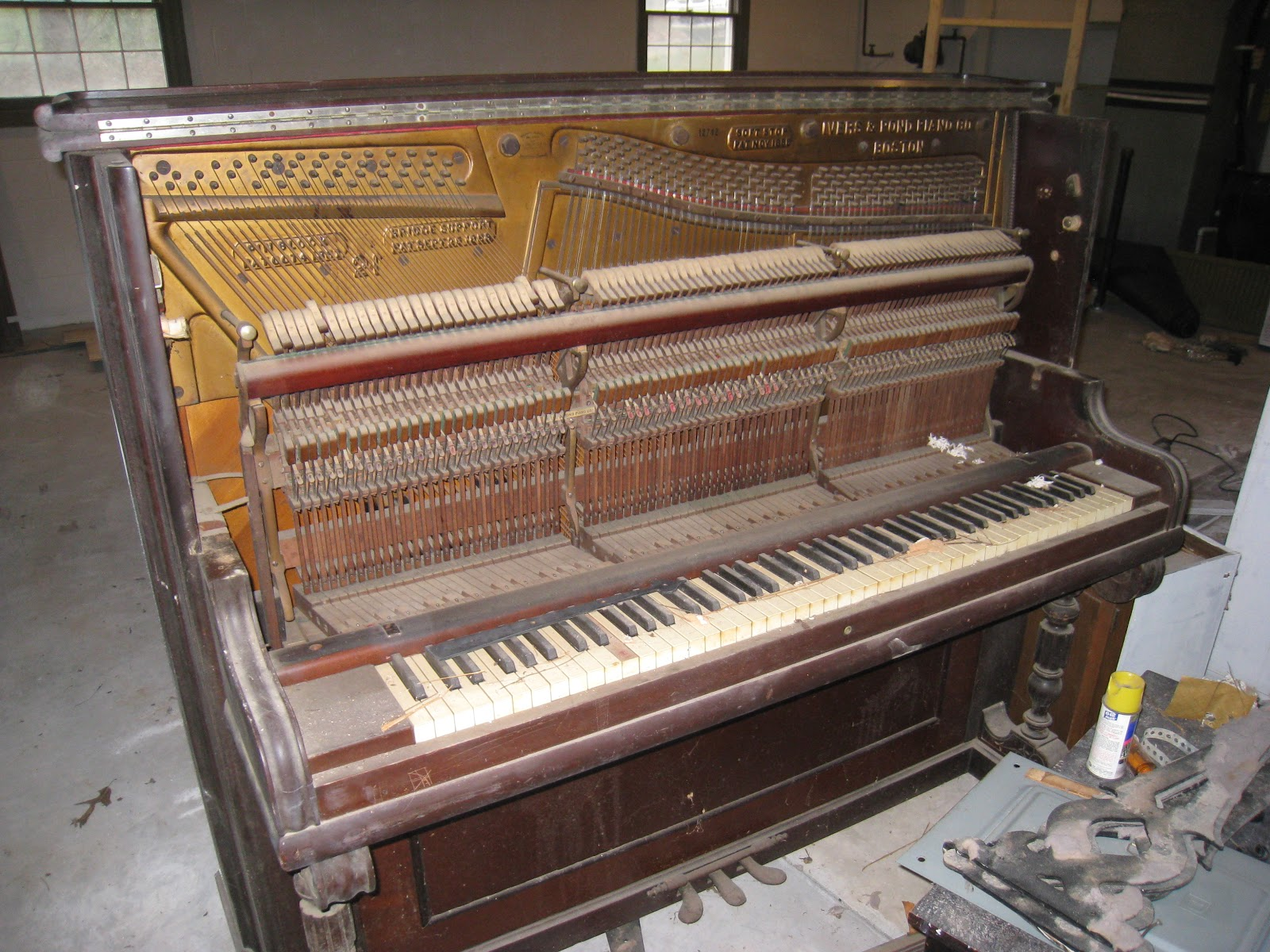 Repurposed For Life Recycling An Old Piano
