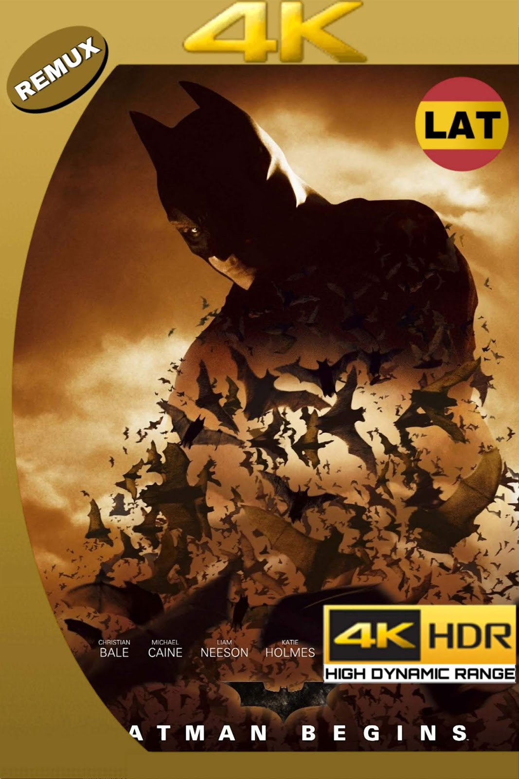 BATMAN INICIA 2005 LATINO+2 UHD 4K HDR 2160P 56GB.mkv