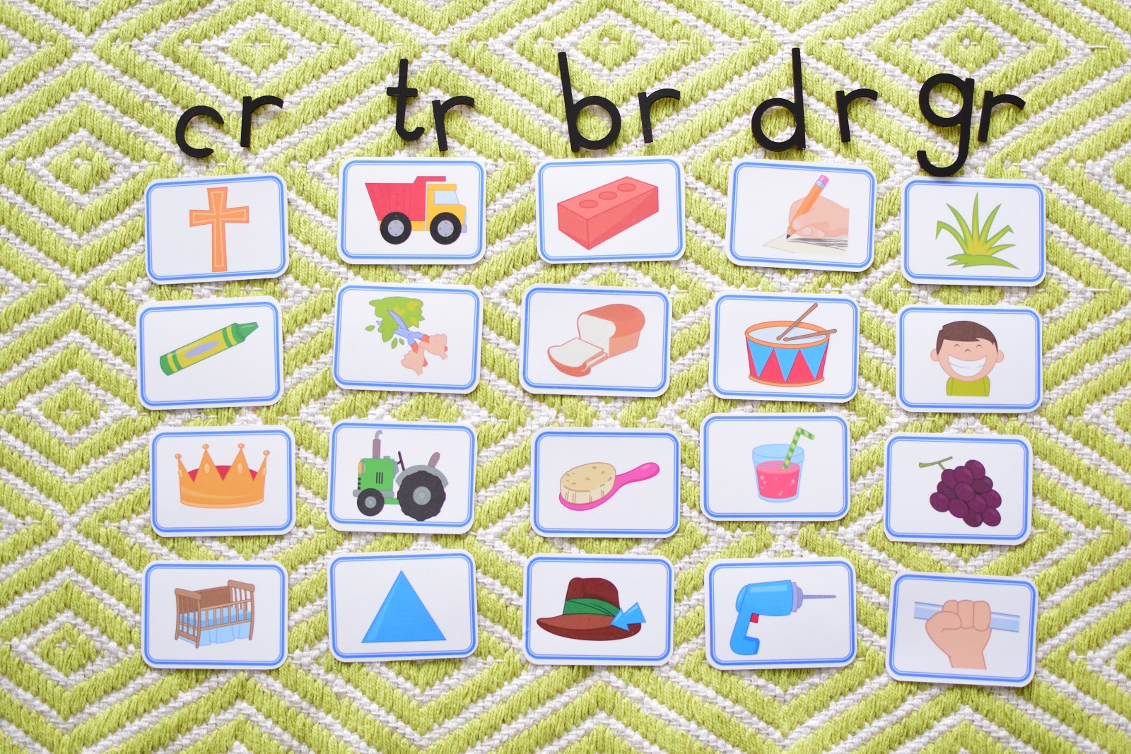 Consonant Blends List