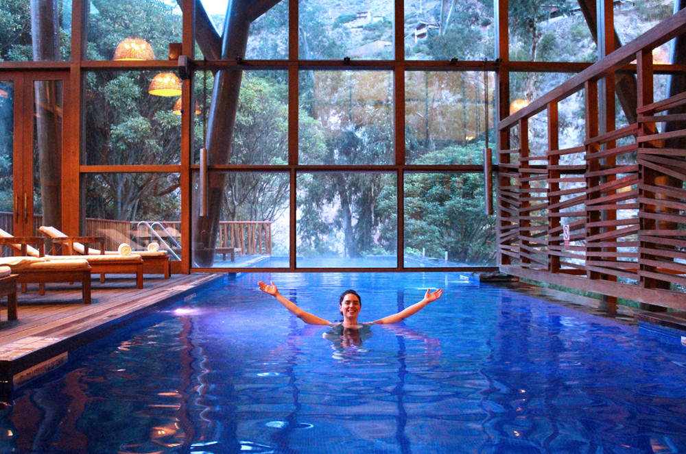 Swimming pool at Tambo Del Inka, A Luxury Collection Resort & Spa, Valle Sagrado, Peru - travel blog