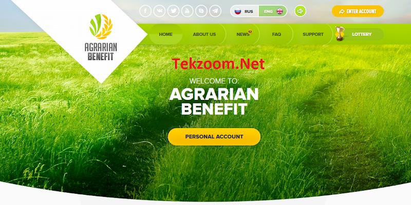 [SCAM] Review Agrarian-Benefit : Lãi 5% hằng ngày cho 30 ngày - Đầu tư tối thiểu 10$ - Thanh toán tức thì