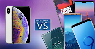 iPhone Xs vs Huawei P20 Pro, Galaxy S 9 and other beasts