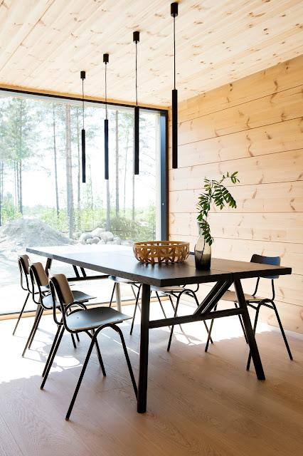 musta keittiönpöytä hakola woody