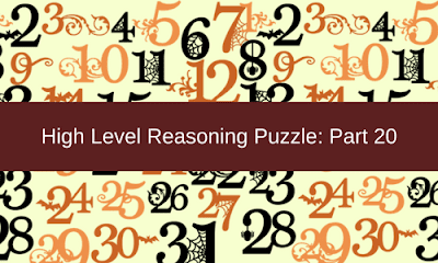 High Level Reasoning Puzzle: Part 20