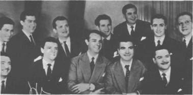Julio Sosa con la Orquesta Francini Pontier en 1950