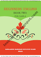 NCTB Ebtedayi Class Four Beginner's English Book Two