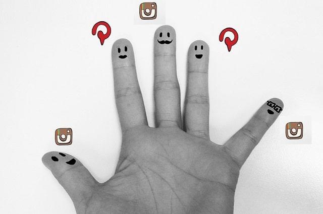 pinterest vs instagram social media marketing lean startup life blog
