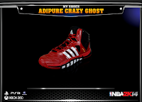 NBA 2K14 Adidas Adipure Crazy Ghost