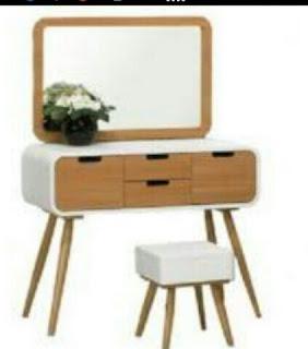 Meja rias putih%255B2%255D - jual set meja rias jepara harga bersahabat