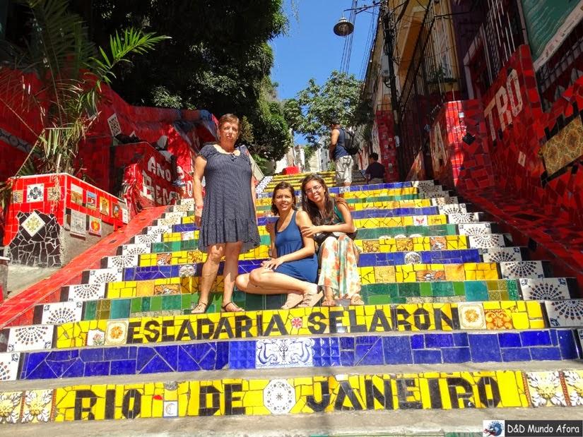 Escadaria Selaron - Rio de Janeio