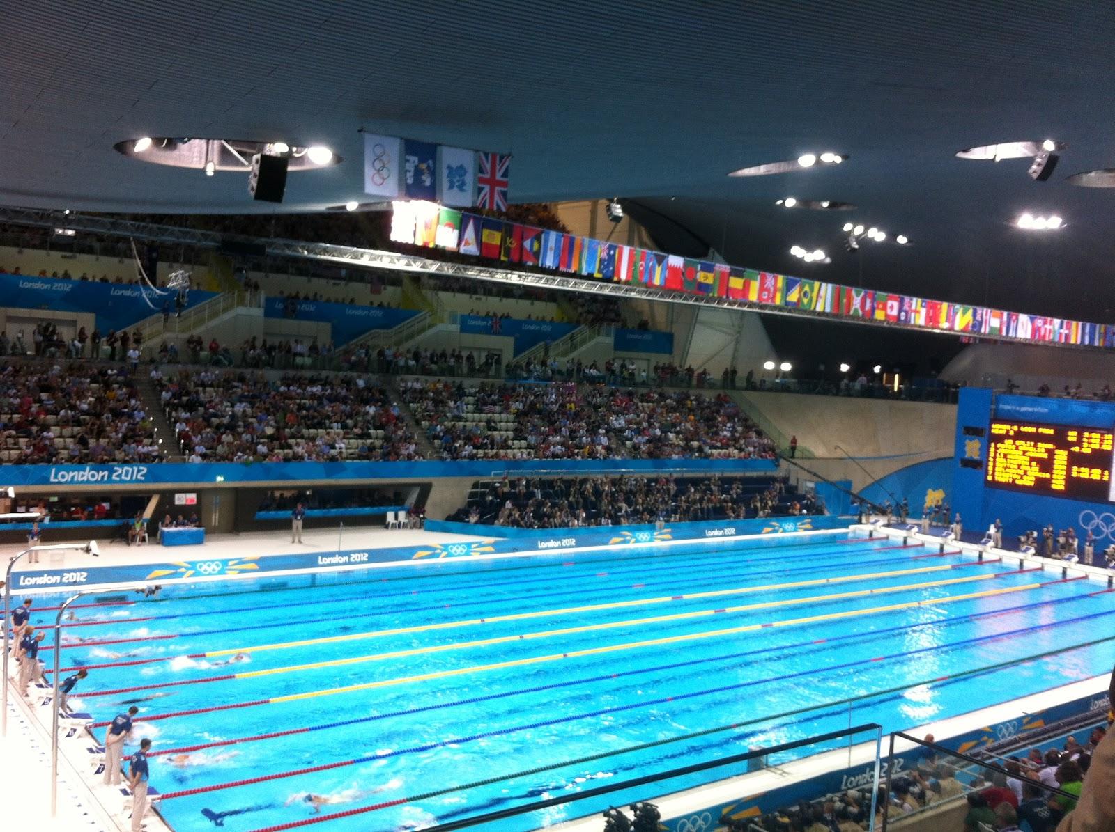Olympic Swimming Pool 2012: London 2012: July 2012