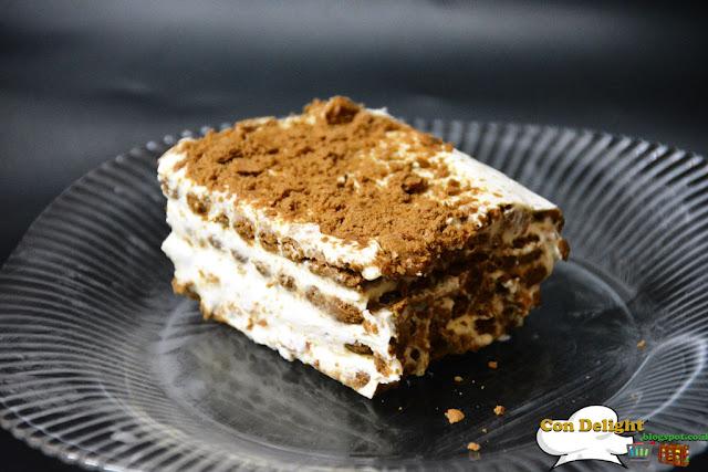 biscuit cake עוגת ביסקוויטים