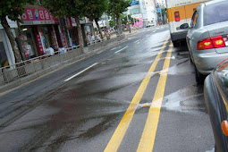 Pembersih Jalan Sendiri Di Korea Selatan