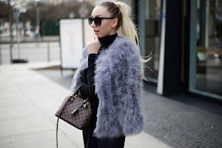 Topshop Feather Jacket