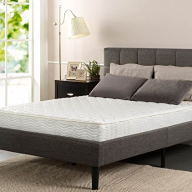 Nice Sleep Master Pocketed Spring Coil Inch Classic Mattress by Zinus