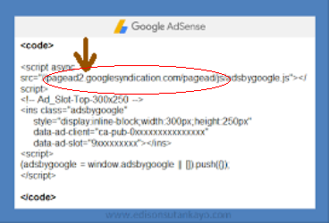 cara menghilangkan pagead2.googlesyndication