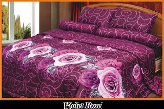 Sprei & BedCover Impression - Violet Rose