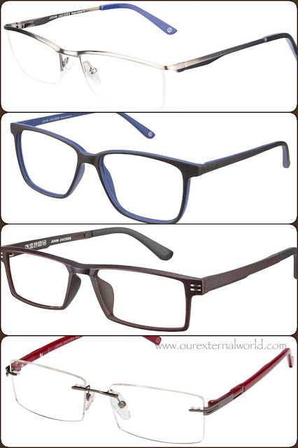 mens eyewear - John Jacobs,