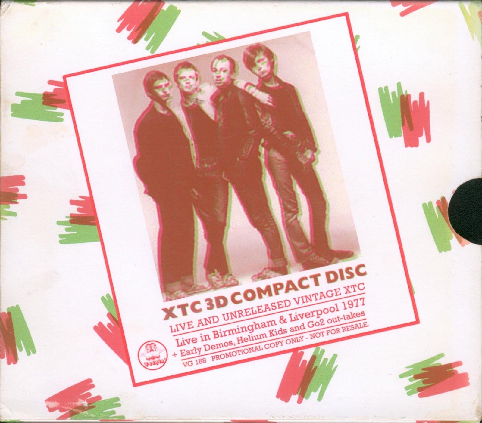 music ruined my life: XTC: 3D CD (1977)