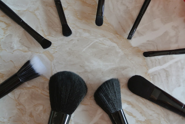 Makeup Revolution 9 Piece Amazing Brush Collection Image Budget Affordable Superdrug