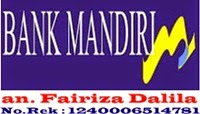 Rekening Bank Mandiri Soni Herbal