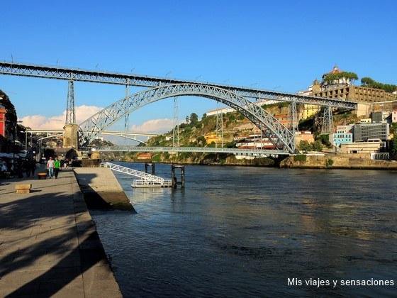 Puente Don Luis I y Ribeira, Oporto