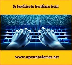 Simular tempo de contribuição, Previdência Social, Pela internet