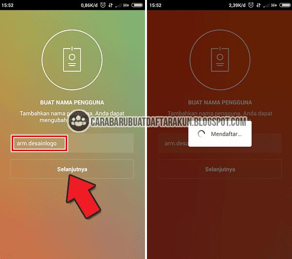 Buat Akun Instagram lewat HP Android dengan Email Gmail
