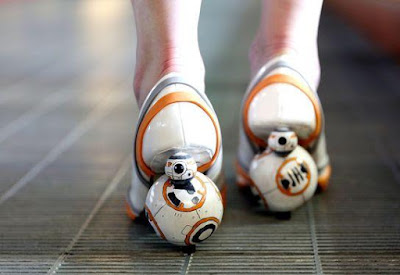 DIY BB-8 Heels