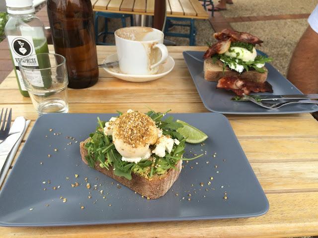 Brunch at Four Espresso Cafe Port Macquarie