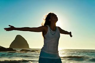 healthy happy peaceful