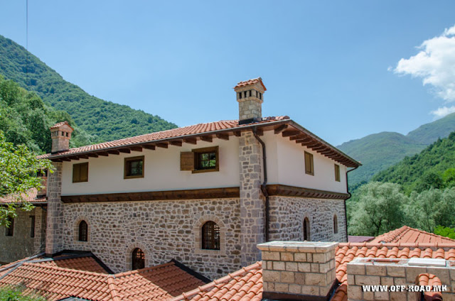 House of Mijaks - St. John Bigorski Monastery in Macedonia
