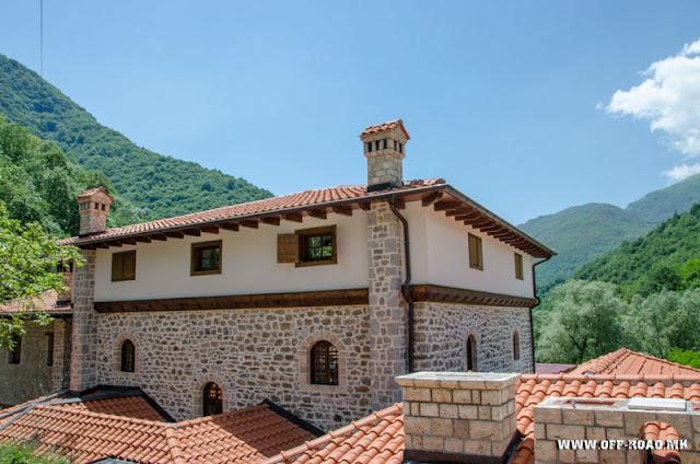 House of Mijaks - St. John Bigorski Monastery in Macedonia