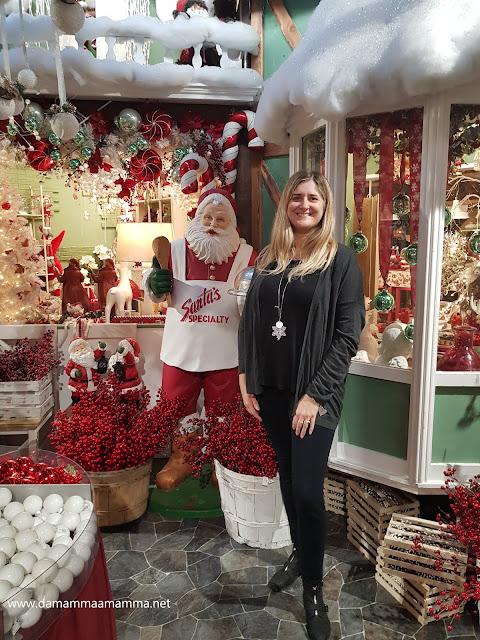nel Villaggio di Natale