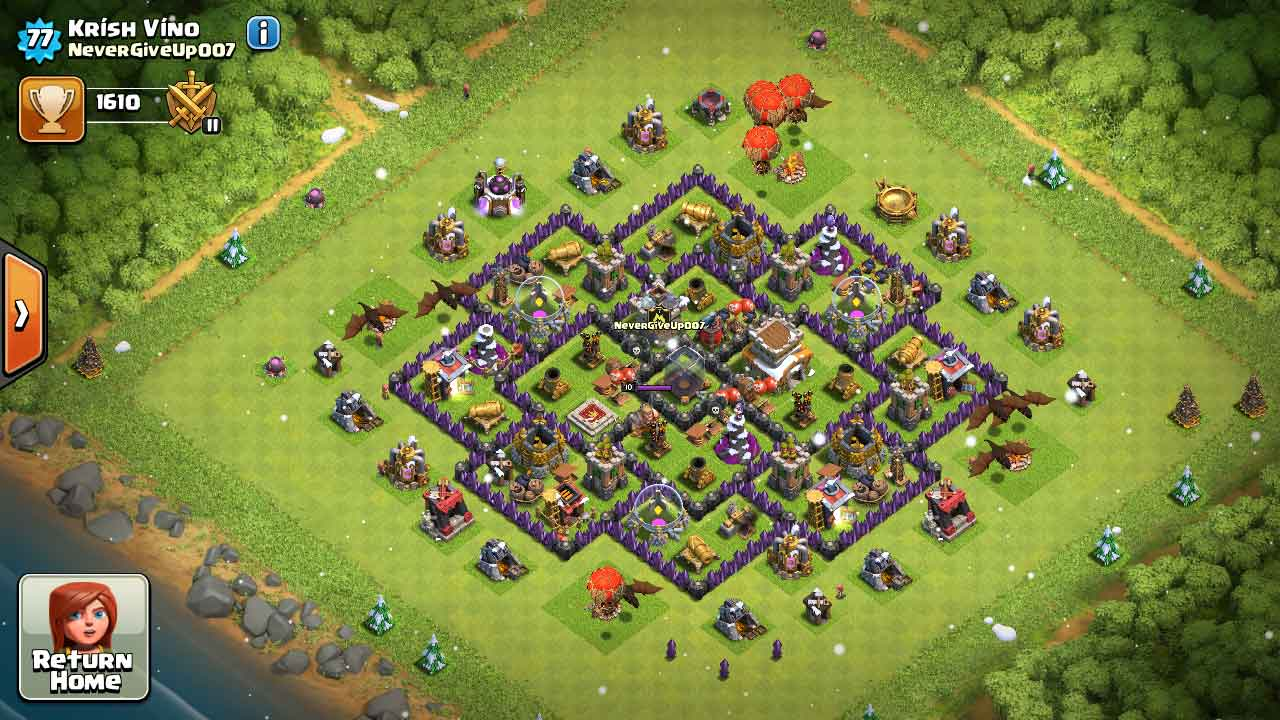 Top 10 clash of clans unbreakable town hall 8 defense war bases 2017