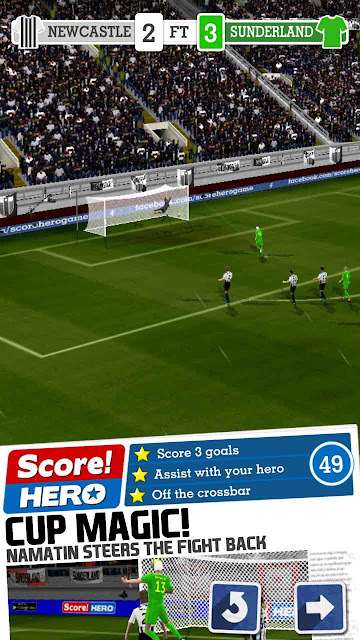 cheat score hero bintang 3