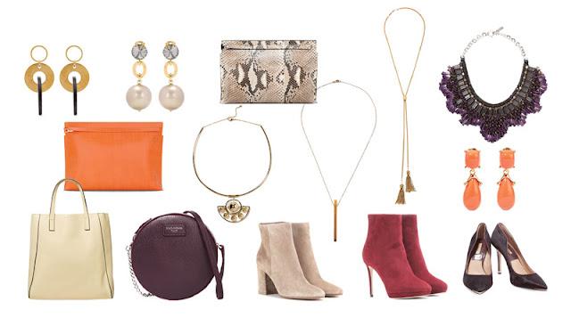 Аксессуары капсульного гардероба баклажанный, ягодный, оранжевый, голубой, camel