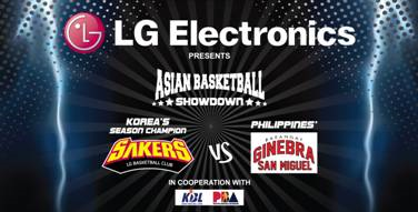 Korea's LG Sakers to battle PH's Barangay Ginebra