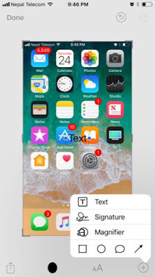 Make screenshots even look better in iOS 11 with Screenshot Markup Tool. Here's how you can use and edit your Screenshot photos using Markup tool in iOS 11